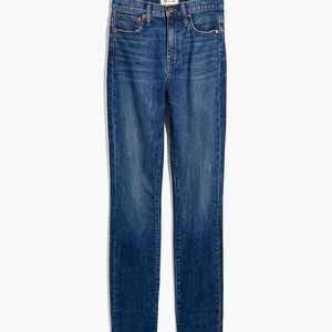 Madewell High-Rise Slim Boyjean in Barksdale Wash
